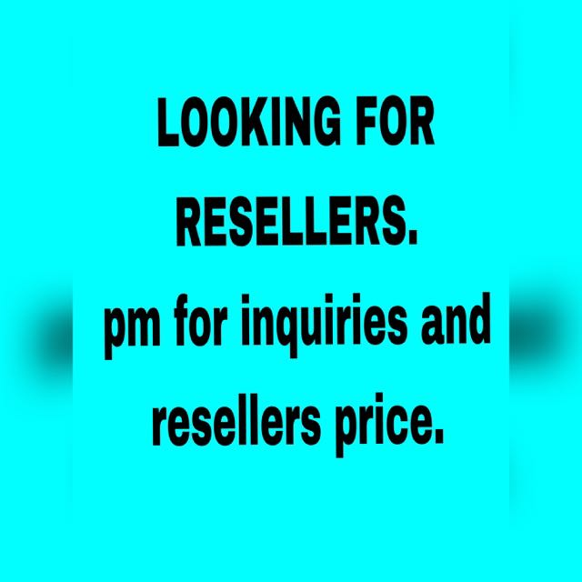 LOOKING FOR RESELLERS!!