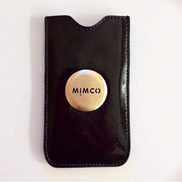 Mimco Black Patent Leather iPhone 5 Case