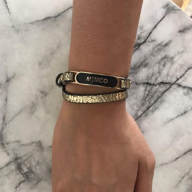 Mimco Leather Bracelet