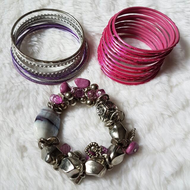 MURAH BANGET!!! Mix Bracelets: 2 sets Indian Bracelet, 1 Gypsy Bracelet (Paket Gelang: 2 set Gelang India, 1 Gelang Gypsy) Bohemian Style