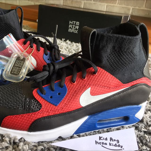 more photos ea7d0 f12d2 Nike Air Max 90 Ultra Superfly T by Tinker Hatfield