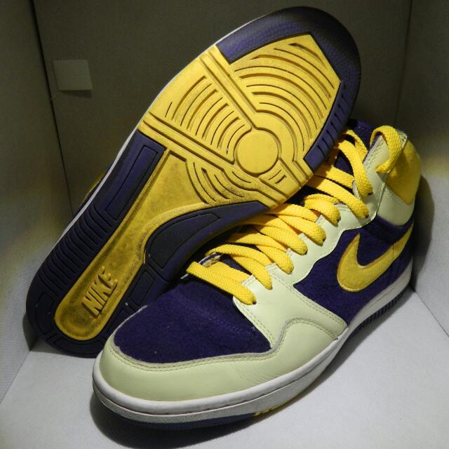 Nike Court Force - Purple + Yellow
