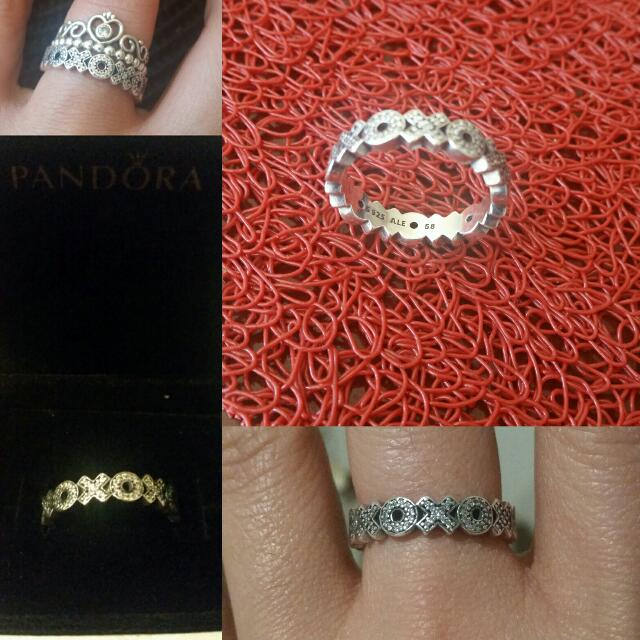 Pandora XOXO Ring Authentic