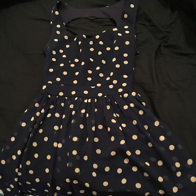 Polka Dot Dress SMALL