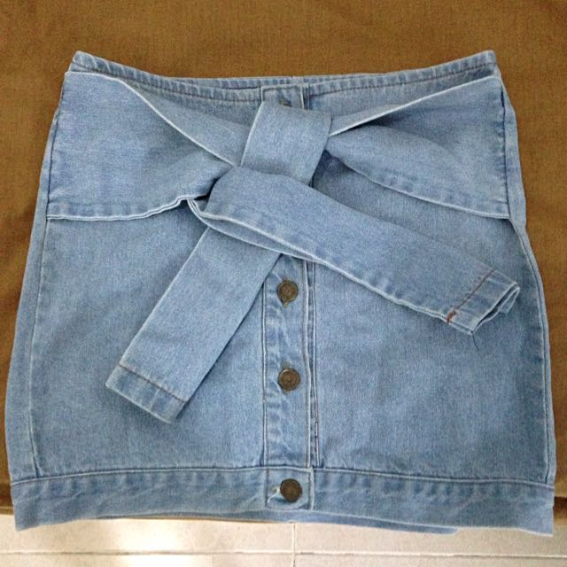 Pomelo Denim Skirt