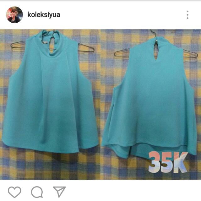 Preloved Blue Shirt