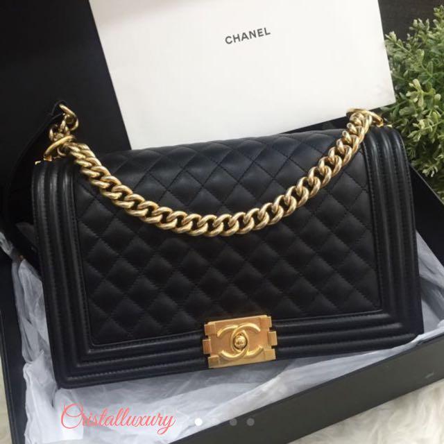 Preloved Chanel Boy Bag 0fc877164409