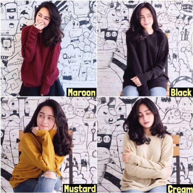 Premium Loose/ Boxy Sweater