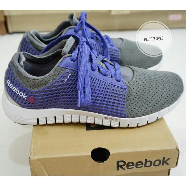 Reebok Running Shoes Grey Blue