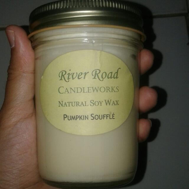 River Road Candle Works Scented Candle With Natural Soy Wax