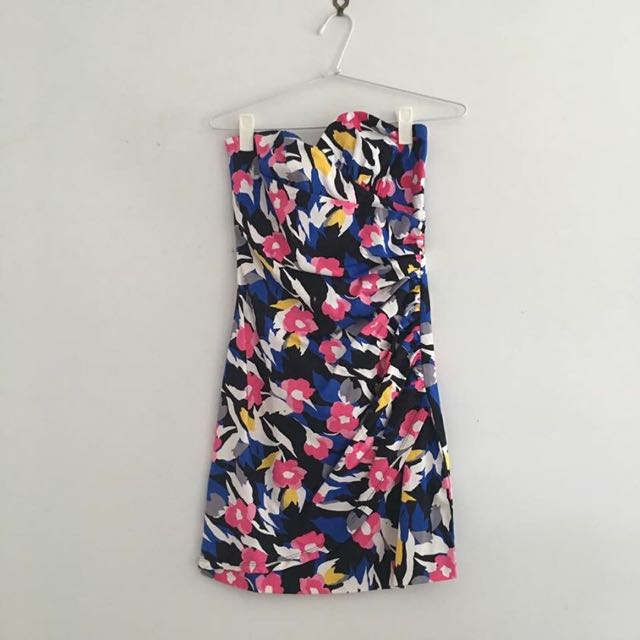 SHEIKE STRAPLESS DRESS