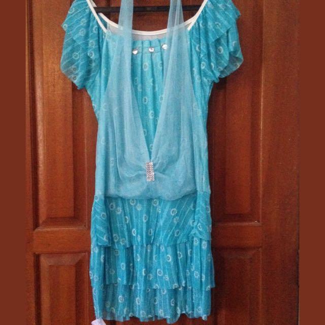 [PRELOVED] Simple Blue Dress