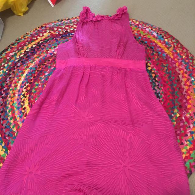 Size 12 Pink Cooper Street Dress