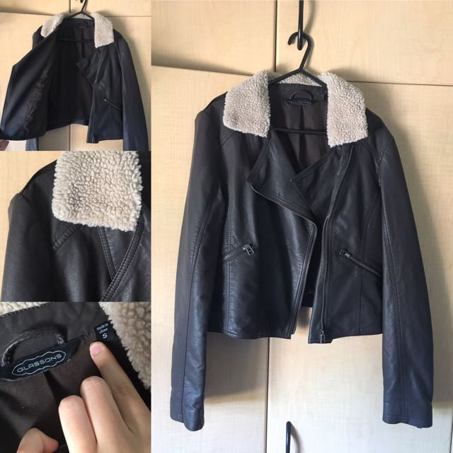 Size S, Leather Jacket