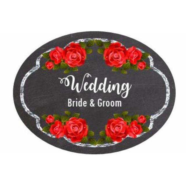 Sticker Label - Wedding