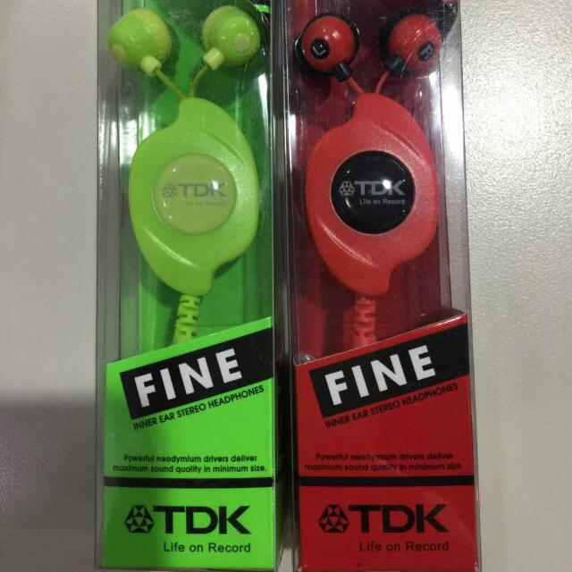TDK headphones