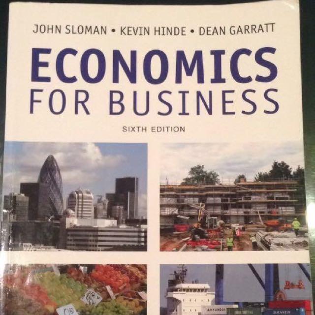 Textbook Economics For Business