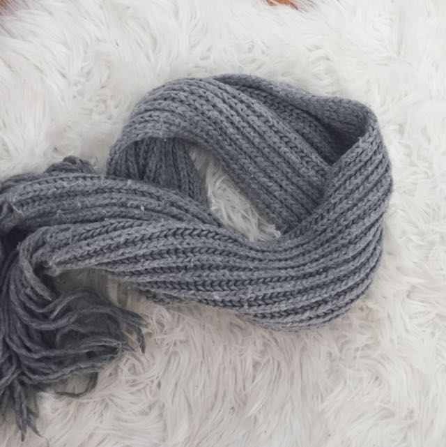 Thick Knit Scarf