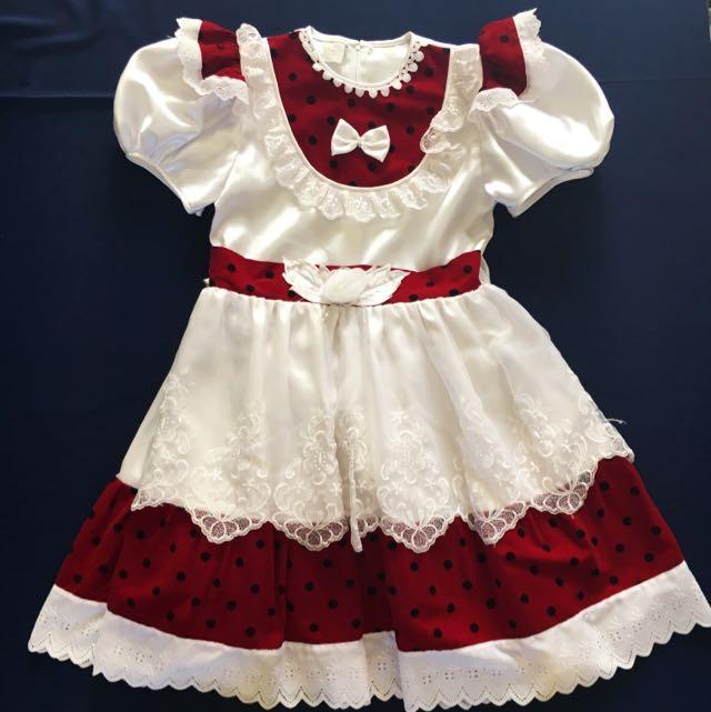 Unique Flower Girl's Dress