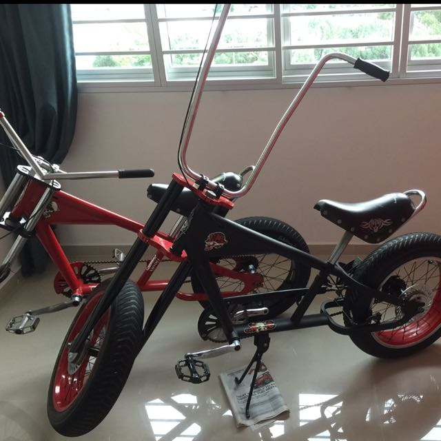 Vintage Stingray Chopper Bike