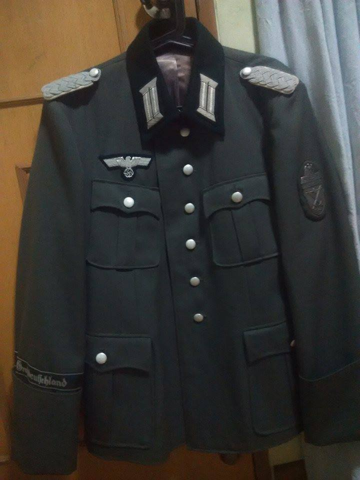 WW2 german officer uniform replica on Carousell