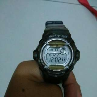 Authentic BabyG Grey Watch