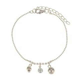 [SOLD OUT] Gelang Kaki (Anklet) Korea diamond pendant simple