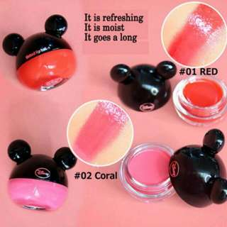 [Instock] TheFaceShop Mickey Mouse Tinted Lip Balm