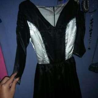 Dress Buatan Tangan Sendiru