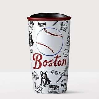 美國Starbucks 星巴克 波士頓 城市杯