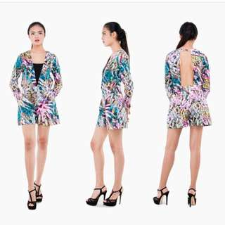 Annmarie Playsuit By Avenue Mode