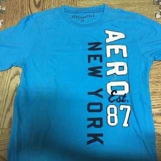 AEROPOSTALE 淺藍色 T-shirt