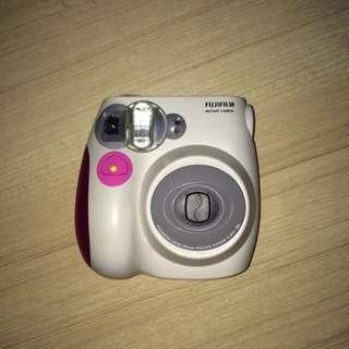 FujiFilm Instax Mini 7S Pink Polaroid