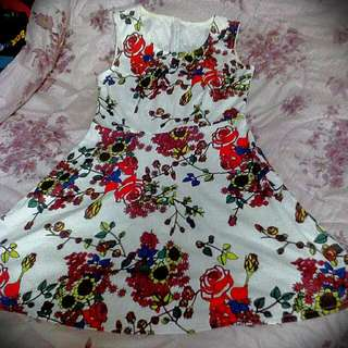 Flowery Dress Reduced Price