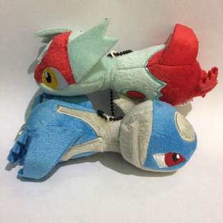 Original Pokemon Center Latios & Latias Plush