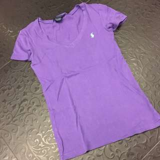 《保留》Ralph Lauren 紫色女上衣