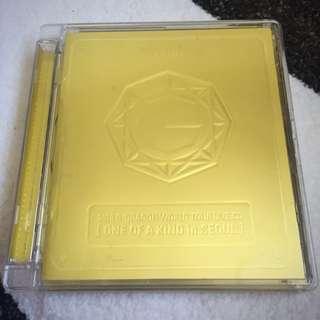 BIGBANG G-DRAGON WORLD TOUR LIVE CD