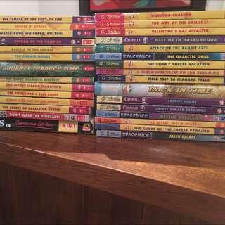 30 Geronimo Stilton Books
