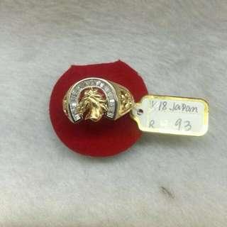 18k Japan Mens Ring