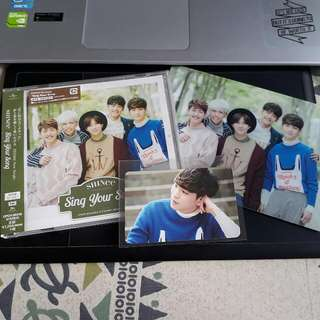 SHINee Sing Your Song Album with Key PC