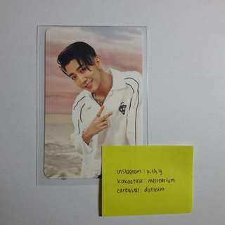 B.A.P Put'em Up Yongguk Photocard