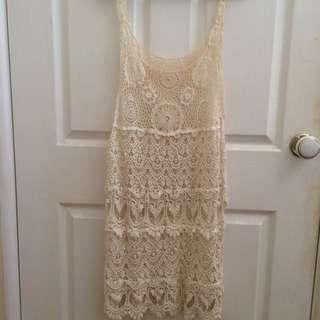 Never Worn Crochet Dress