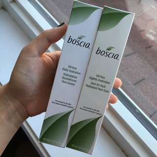 BOSCIA Oil-Free Daily Hydration and Oil-Free Nightly Hydration
