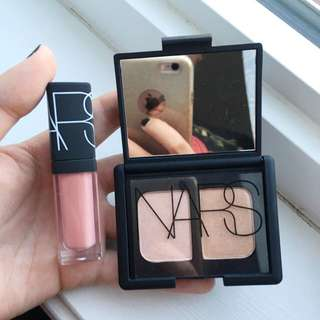 NARS Duo Eyeshadow and Miniature Lip Gloss Set