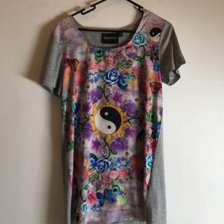 Over Sized Mink Pink T
