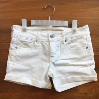 AEO Americian Eagle Outfitter Cuffed Denim Jeans Shorts