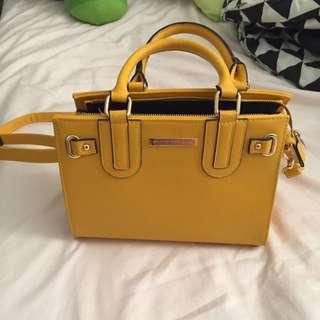 Mustard Yellow Handbag