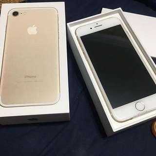 Iphone7 128g金色