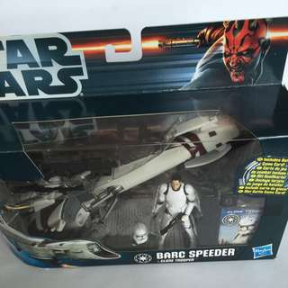 Star Wars Clone Trooper N Speeder