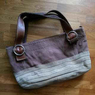 Used Fossil Shoulder Tote Bag